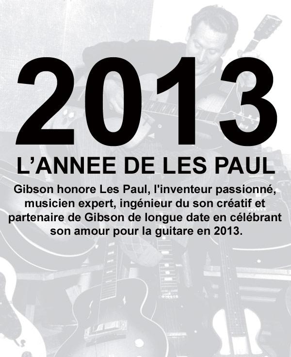 Les Paul 2013