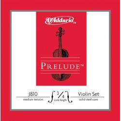 Jeu Cordes d'Addario violon (3/4) Prélude Medium