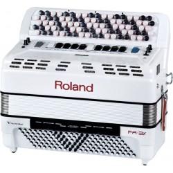 Roland V-Accordeon Bouton FR3X Blanc