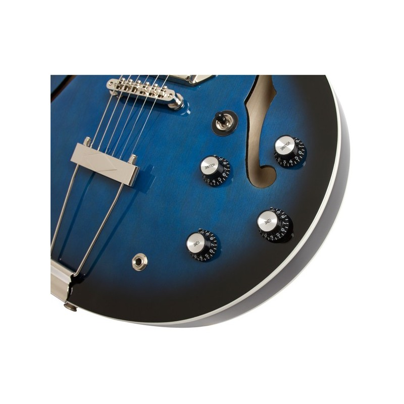 epiphone casino gary clark jr blak and blu