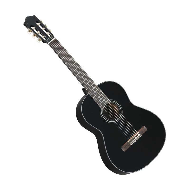 achat guitare classique yamaha 4 4 c40ii gaucher noire. Black Bedroom Furniture Sets. Home Design Ideas