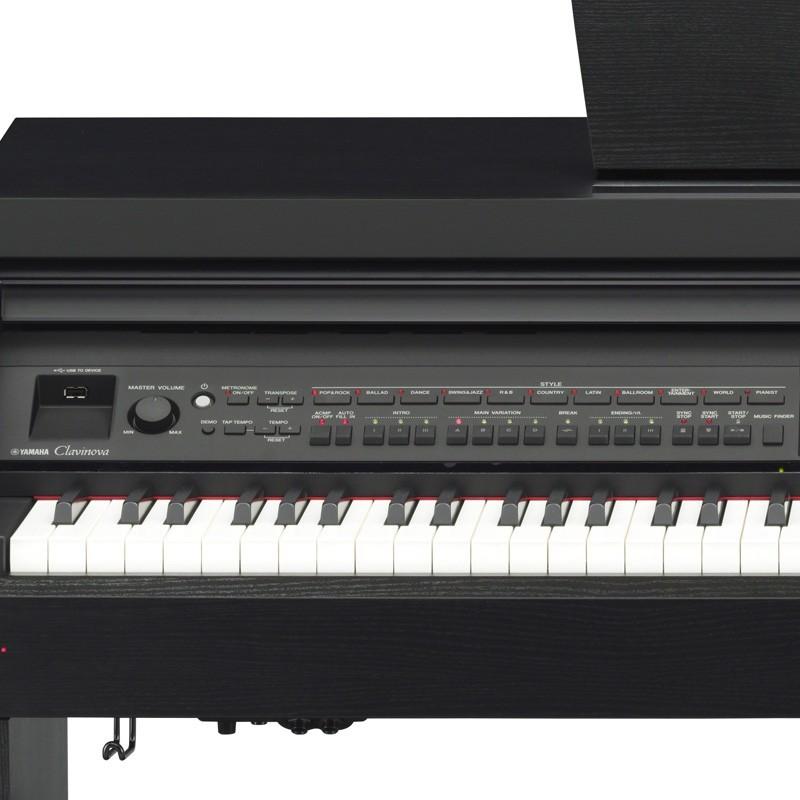 piano arrangeur yamaha clavinova cvp 701b. Black Bedroom Furniture Sets. Home Design Ideas