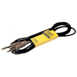 Cordon Yellow Cable Jack/Jack Série Métal 3 m