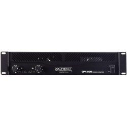 Ampli Crest Audio 2x300 Watts/4 Ohms