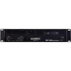 Ampli Crest Audio 2x500 Watts/4 Ohms