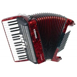 Accordéon Chromatique Hohner Piano Bravo III 72 Basses