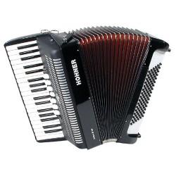 Accordéon Chromatique Hohner Piano Bravo III 96 Basses