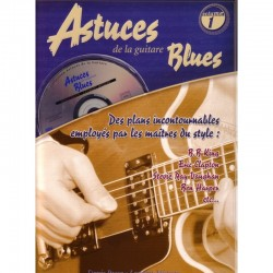 Astuces de la guitare blues Vol 1 CD