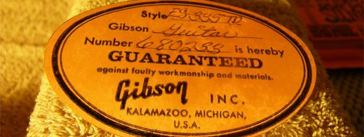 Identification Gibson