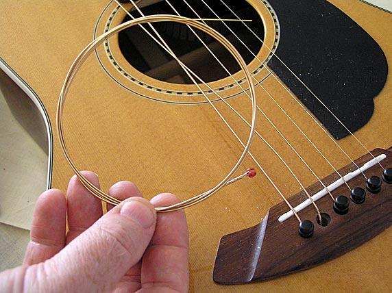 Remplacer les cordes de sa Guitare