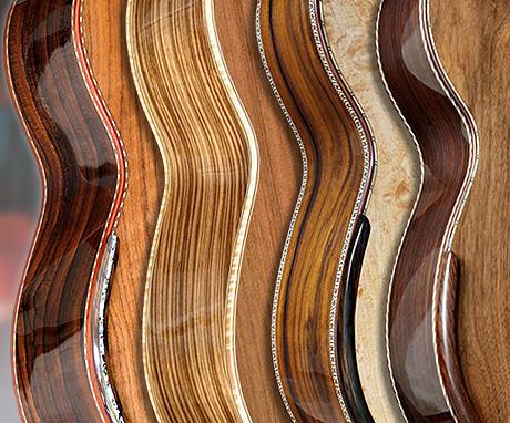 Les Eclisses des Guitares Acoustiques