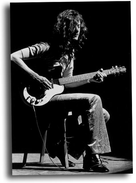 Jimmy Page et sa Danelectro