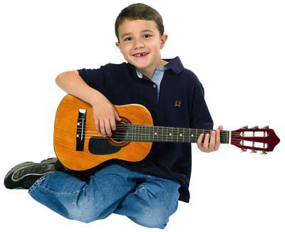 choisir la bonne taille de guitare pour un enfant. Black Bedroom Furniture Sets. Home Design Ideas