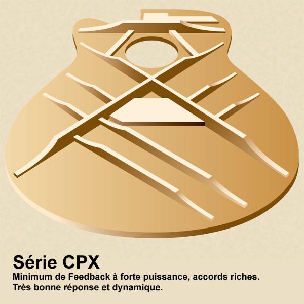 Barrages de la série CPX