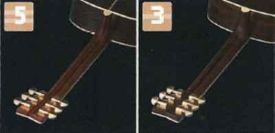 Yamaha Manche 3 ou 5 Plis
