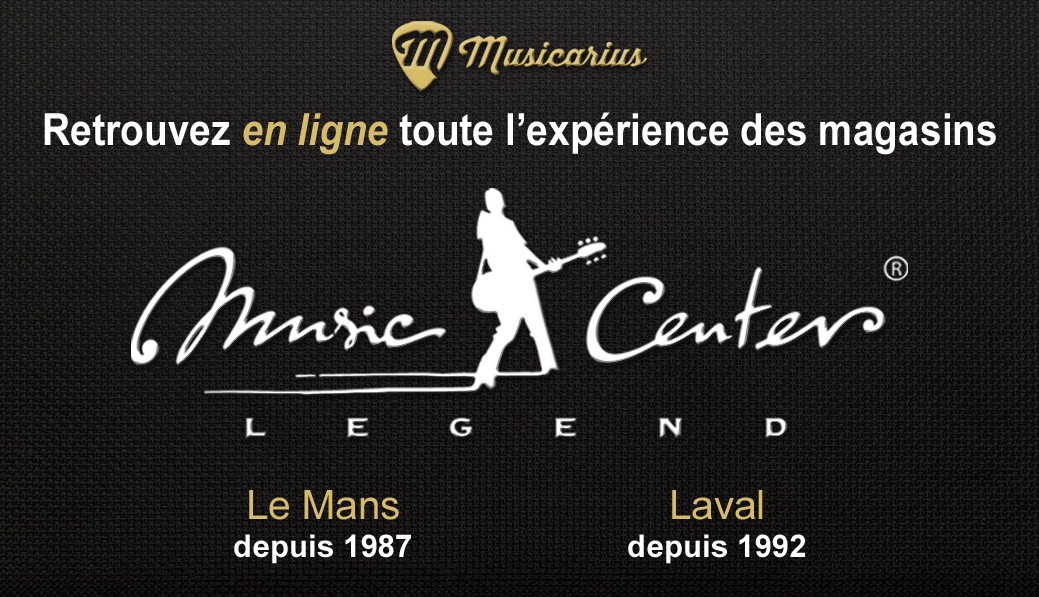 Music Center Legend Le Mans et Laval