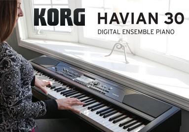 Korg Havian 30 Piano Numérique Arrangeur
