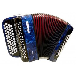 Accordéon Chromatique Hohner Nova II 60 A Bleu