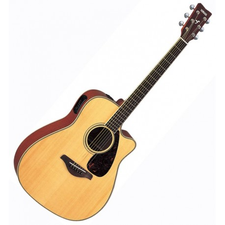 Guitare Yamaha Dreadnought CTW E/A FGX720SC Naturel