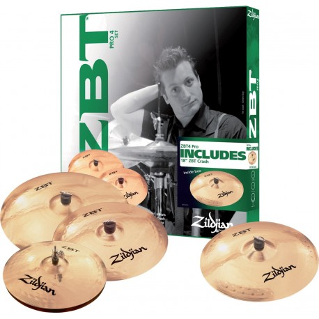 Cymbale Set Zildjan ZBT Pro 4