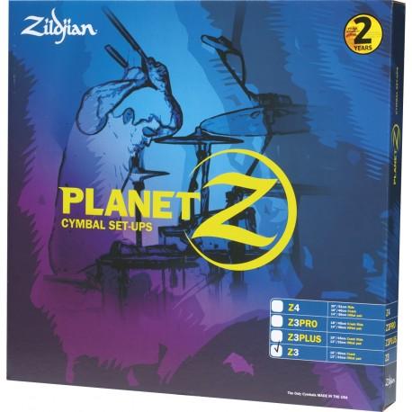 Cymbale Zildjian Planet Z Set 4 Cymbales