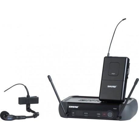 Système Shure PGx Instrument Beta 98H