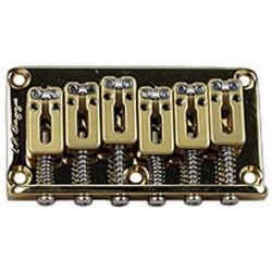 Chevalet piezo type vibrato Strat, or