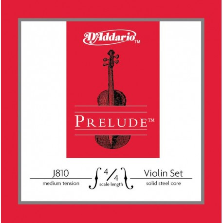 Jeu Cordes d'Addario violon (4/4) Prélude Medium