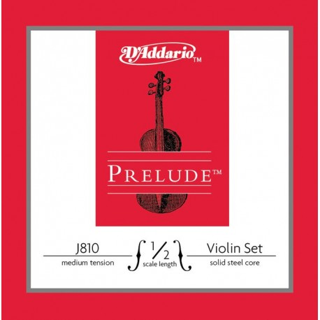 Jeu Cordes d'Addario violon (1/2) Prélude Medium