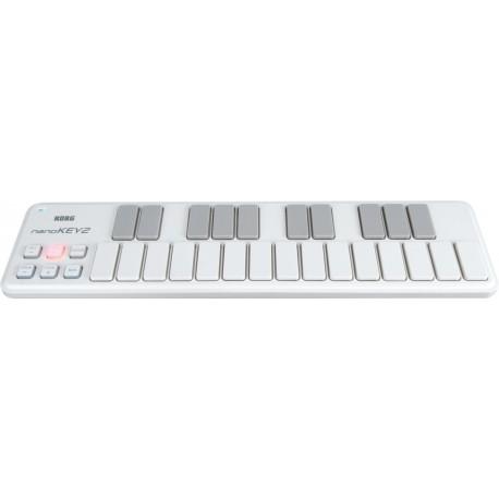 Clavier Korg USB 25 notes Blanc