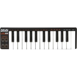 Clavier Maitre Akai 25 notes mini touches USB