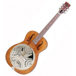 Resonator Dobro Hound Dog Deluxe Round Neck