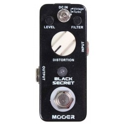 Mooer Micro Série ultra compact Distorsion 2 Modes
