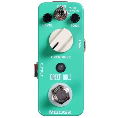 Mooer Micro Série ultra compact Green Mile