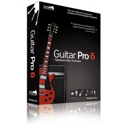 Editeur de tablature Guitar Pro 6