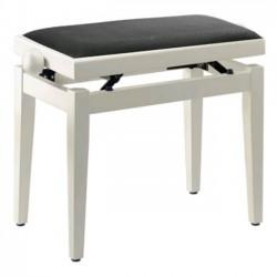 Stagg Banquette Piano Blanche