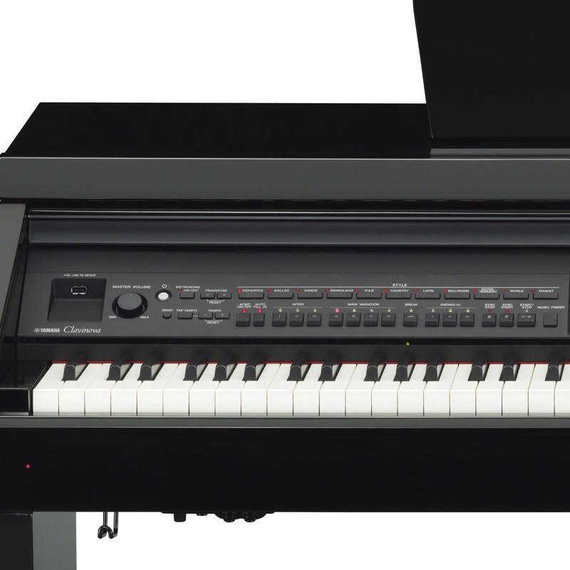 piano arrangeur yamaha clavinova cvp 701pe noir laqu. Black Bedroom Furniture Sets. Home Design Ideas