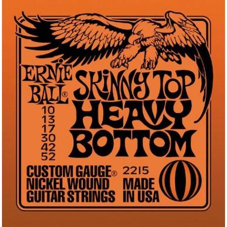 Jeu Cordes Ernie Ball Heavy Bottom 10/52
