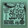 Jeu Cordes Ernie Ball Not Even Slinky 12/56