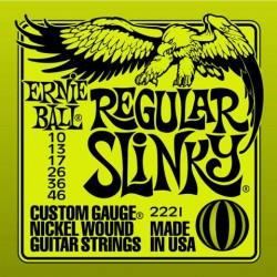 Jeu Cordes Ernie Ball Regular Slinky 10/46