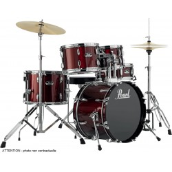 "Pearl Roadshow Junior 18"" Wine Red"