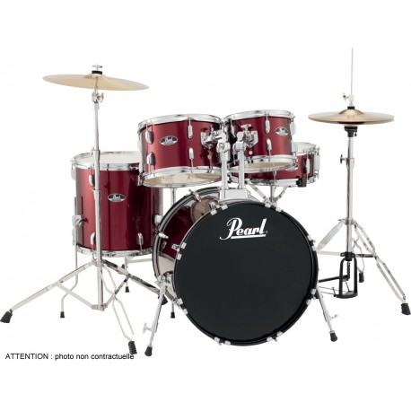 "Pearl Roadshow Fusion 20"" Wine Red"
