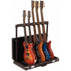 Stand Rockstand pour 5 Guitares Pliable en Etui
