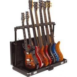 Stand Rockstand pour 7 Guitares Pliable en Etui