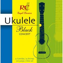 Royal Classic Ukulele Black Concert
