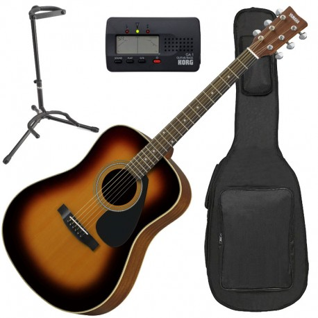 Yamaha F370DW TBS Tobacco Brown Sunburst Pack