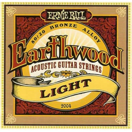 Jeu Cordes Ernie Ball Earthwood Light