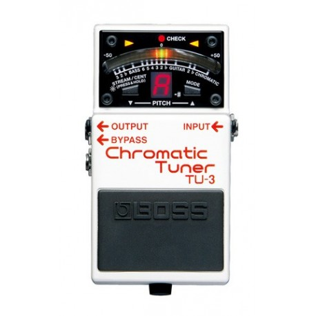 Accordeur Boss Pédale Chromatique TU-3