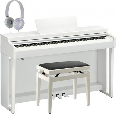 Yamaha CLP-625WH White Full Pack