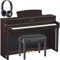 Yamaha CLP-645R Rosewood Full Pack